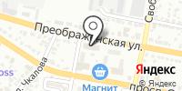 Цюрих на карте