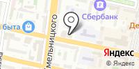 Управление лесами Белгородской области на карте
