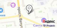 Ясные Зори на карте
