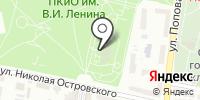 Тропикано на карте