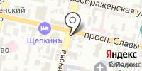 Белгородская и Старооскольская епархия на карте