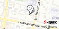 Дентли на карте