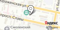 Селиком на карте