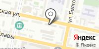 Управление автомобильных дорог общего пользования и транспорта Белгородской области на карте