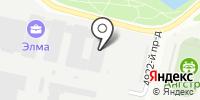 Элма на карте