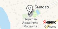 Михайло-Архангельский храм в Былово на карте