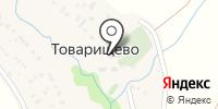 Храм во имя казанской иконы Божией Матери в Товарищево на карте