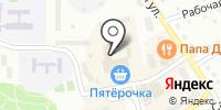 Малинка на карте
