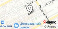 Альмотек на карте