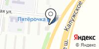 Магазин хозяйственных товаров на ул. Ватутинки на карте