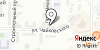 Аканит на карте