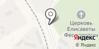 Рублевское кладбище на карте