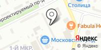 Интенс на карте