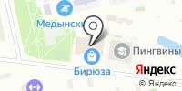 Бирюза на карте