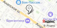 Джамбо на карте