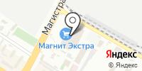 Контейнер Транзит на карте
