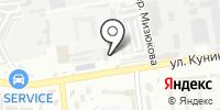 АЗС Дюрсо на карте