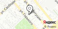 Огонек на карте