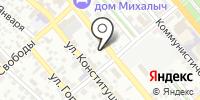 Фотостудия на ул. Энгельса на карте