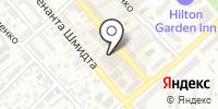 Дрион на карте