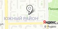 Раки на карте