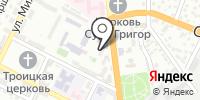 Русский бильярд на карте