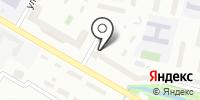Интердентос на карте