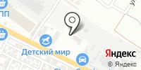 Дита на карте