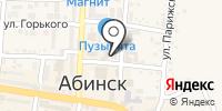Управление Пенсионного фонда РФ в Абинском районе на карте