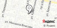 Паутина на карте