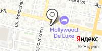 Ирон на карте