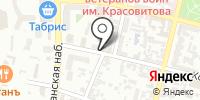 Омега на карте
