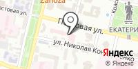 На постовой на карте