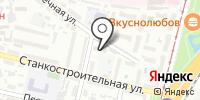 Краевая станция юных туристов на карте