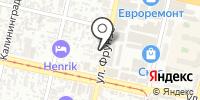 Элток на карте
