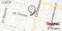 Штаб-квартира на карте