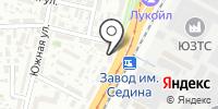Калория на карте