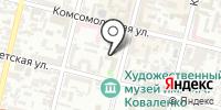 Духанъ на карте