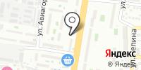 Кулина на карте