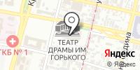 Краснодарский академический театр драмы им. М. Горького на карте
