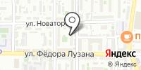МеридианЪ на карте