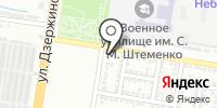 ДжиМ на карте