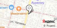 Фасон города на карте