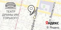 А4-Юг на карте