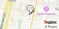 Электриклюкс на карте