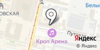Zапой на карте