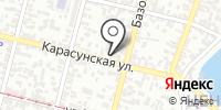 Махаон на карте