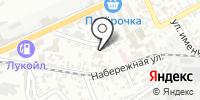 Плехановец на карте