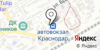 Краснодар-1 на карте