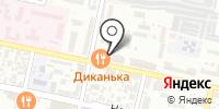 Диканька на карте